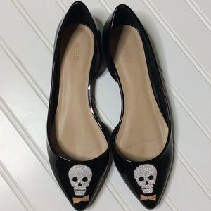 FOREVER 21 shoes. Flats skulls size 7.5